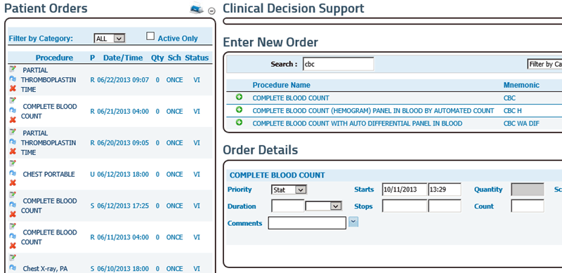 Cpoe Computerized Physician Order Entry Meaningful Use